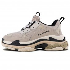 Фотография 1 Унисекс Balenciaga Triple S Grey Black