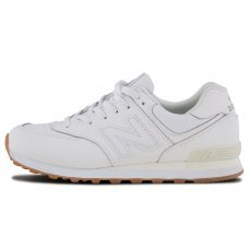 Фотография 1 Унисекс New Balance 574 All White