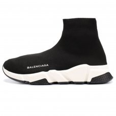 Фотография 1 Женские Balenciaga Speed Trainer Black White
