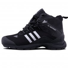 Зимние Adidas Terrex Climaproof High Black/White