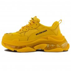 Женские Balenciaga Triple S Yellow