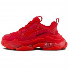 Женские Balenciaga Triple S Red