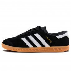 Унисекс Adidas Originals Hamburg Core Black/White/Gum