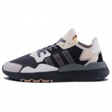Мужские Adidas Nite Jogger Carbon Black/Gray
