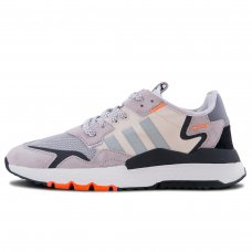 Унисекс Adidas Nite Jogger Grey Two Solar Orange