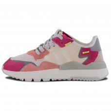 Женские Adidas Nite Jogger Raw White Trace Pink