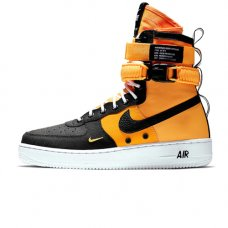 Мужские Nike Air Force 1 SF AF1 Yellow/Black High