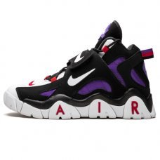 Унисекс Nike Air Barrage Mid Qs Black/White/Purple