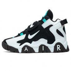 Унисекс Nike Air Barrage Mid Black/White/Cabana