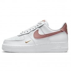 Фотография 1 Женские Nike Air Force 1 Low Rust Pink Features Gold Mini