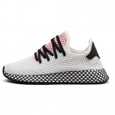 Унисекс Adidas Deerupt Runner White/Black/Red