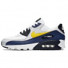 Фотография 1 Мужские Nike Air Max 90 Essential White/Yellow/Blue