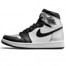 Фотография 1 Унисекс Nike Air Jordan 1 High OG WMNS Silver Toe