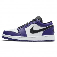 Фотография 1 Унисекс Nike Air Jordan 1 Retro Low Court Purple