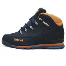 Мужские Timberland Euro Sprint Hiker Hiking Blue/Brown With Fur