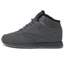 Фотография 1 Зимние Reebok Classic Leather Mid Gray With Fur