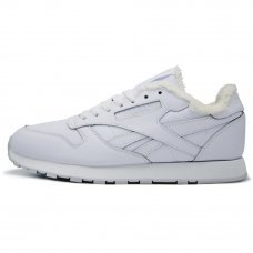 Зимние Reebok Classic White With Fur