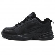 Фотография 1 Зимние Nike Air Monarch IV Black With Fur