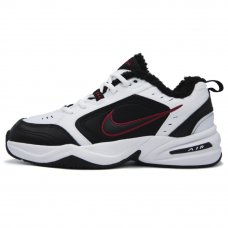 Фотография 1 Зимние Nike Air Monarch IV White/Black With Fur
