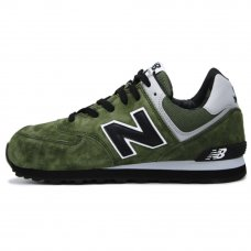 Мужские New Balance 574 Green/Black/Gray