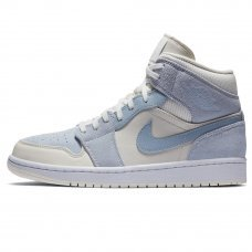 Женские Nike Air Jordan 1 Mid Mixed Textures Blue