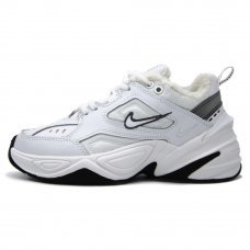 Зимние Nike M2K Tekno WMNS White With Fur