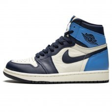 Унисекс Nike Air Jordan 1 Retro High OG Obsidian