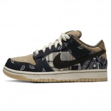 Унисекс Nike SB Dunk Low Jackboys x Travis Scott Black/Parachute Beige