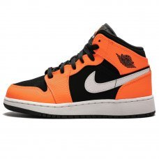 Унисекс Nike Air Jordan 1 Mid Black Cone