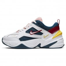 Женские Nike M2K Tekno Blue/Summit White/Chrome Yellow