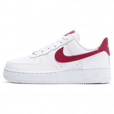 Женские Nike Air Force 1 '07 White/Red