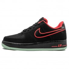 Унисекс Nike Air Force 1 Yeezy Black/Laser Crimson