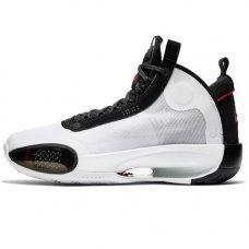 Мужские Nike Air Jordan 34 White/Black/Red Orbit