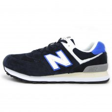 Фотография 1 Мужские New Balance 574 Dark Blue/White/Light Blue