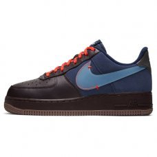 Унисекс Nike Air Force 1 Premium Burgundy Ash/Celestine Blue