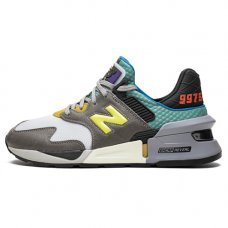 Фотография 1 Унисекс New Balance 997 S Grey/Turquoise/Black/Yellow