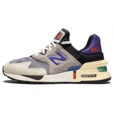 Фотография 1 Унисекс New Balance 997 S Grey/Black/Purple