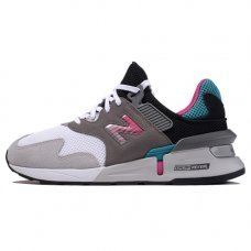 Фотография 1 Мужские New Balance 997 S White/Grey/Turquoise/Pink