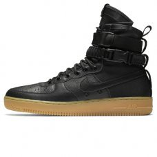 Унисекс Nike SF AF1 Special Field Air Force 1 Black/Black-Gum Light Brown