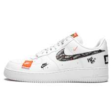 Унисекс Nike Air Force 1 '07 White/Black Total Orange