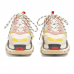 Женские Balenciaga Triple S Cream/Yellow/Red