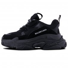 Фотография 1 Унисекс Balenciaga Triple S All Black