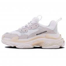 Фотография 1 Унисекс Balenciaga Triple S Cream White