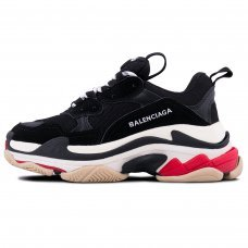 Фотография 1 Унисекс Balenciaga Triple S Black White