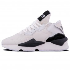 Мужские Adidas Y-3 Yamamoto Kaiwa White/Black