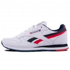 Мужские Reebok Classic Leather White/Blue/Red/Camo