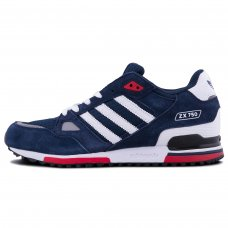 Унисекс Adidas ZX 750 Blue/White