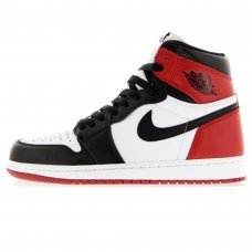 Унисекс Nike Air Jordan 1 Retro High White/Black/Red