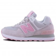 Женские New Balance 574 Light Grey/Pink