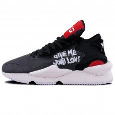 Унисекс Adidas Y-3 Yamamoto Kaiwa Black/White/Red